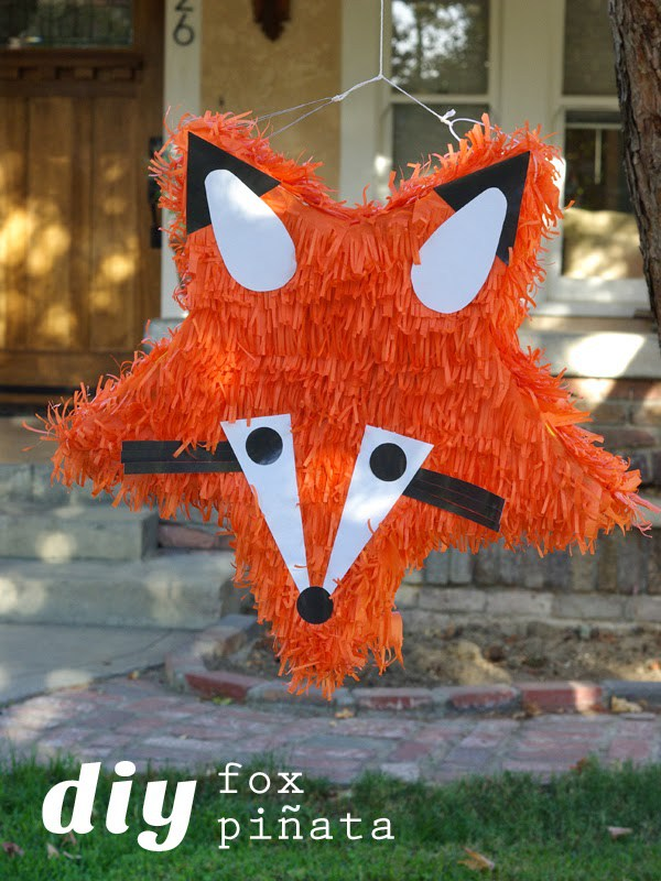 Fox pinata diy
