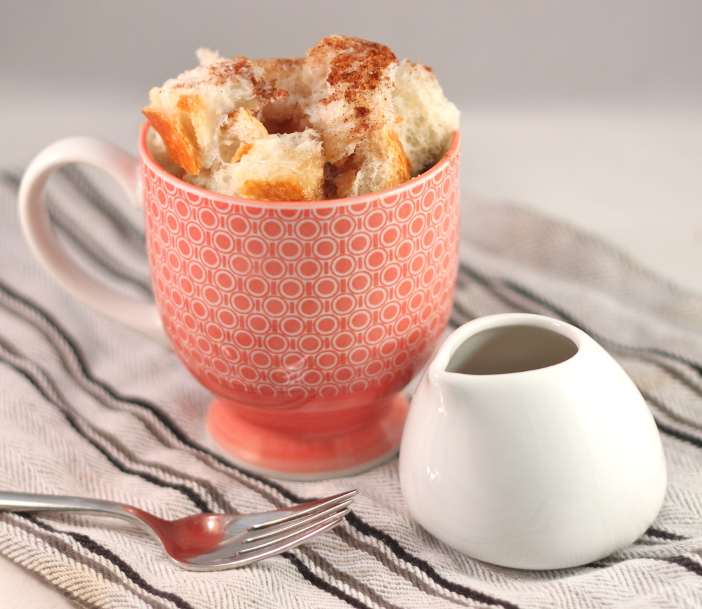 French toast in a mug recipe