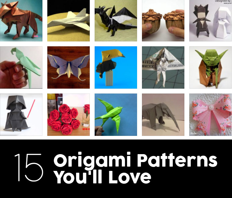 15 Advanced Origami Patterns For People With Lots Of Experience
