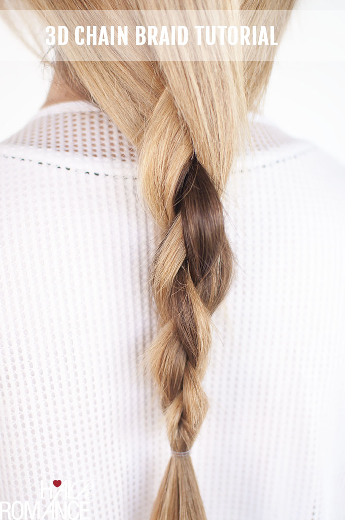 Hair romance the dkny inspired 3d chain braid