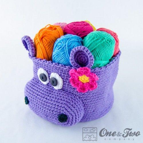 Hippo basket