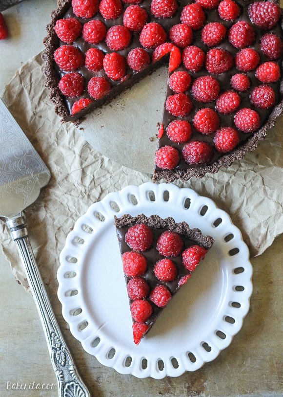 No bake raspberry chocolate