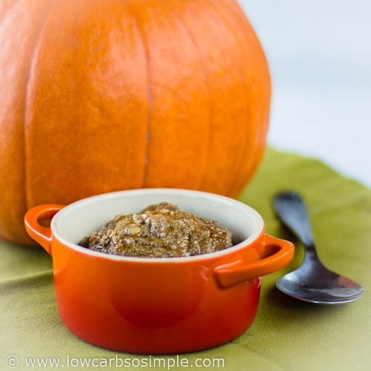 Pumpkin meatloaf in a mug recipe