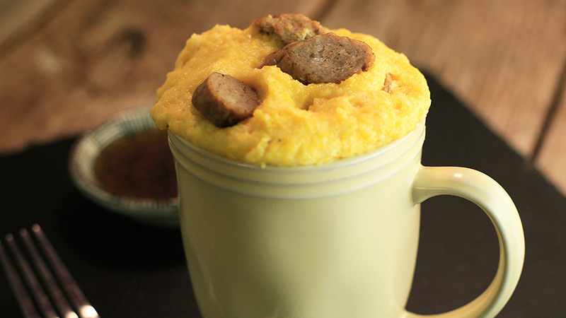 Sausage corn muffin recipe