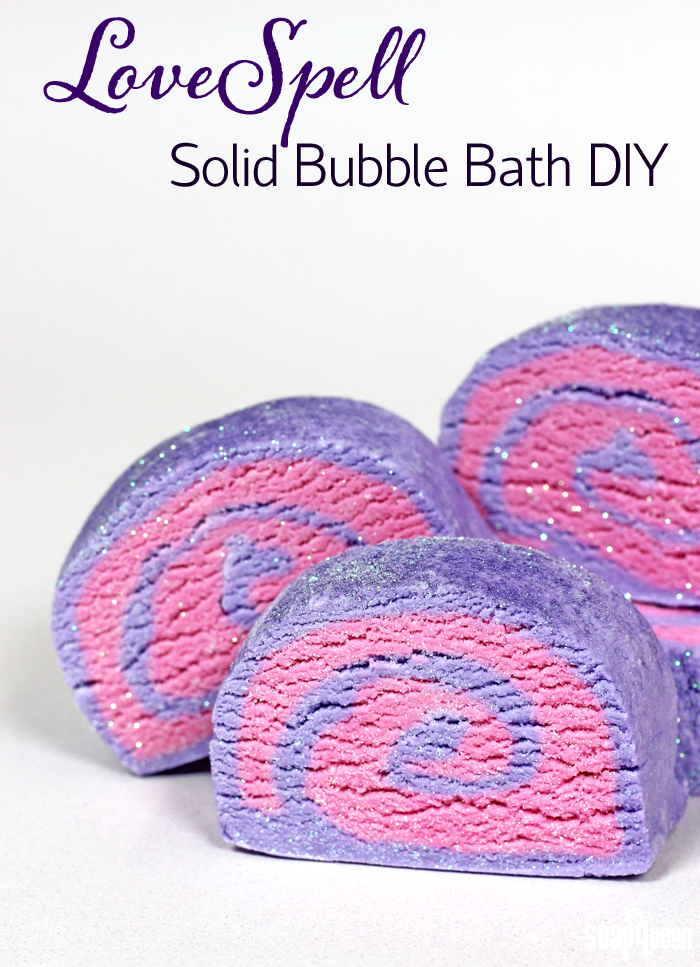 Solid bubble bath diy