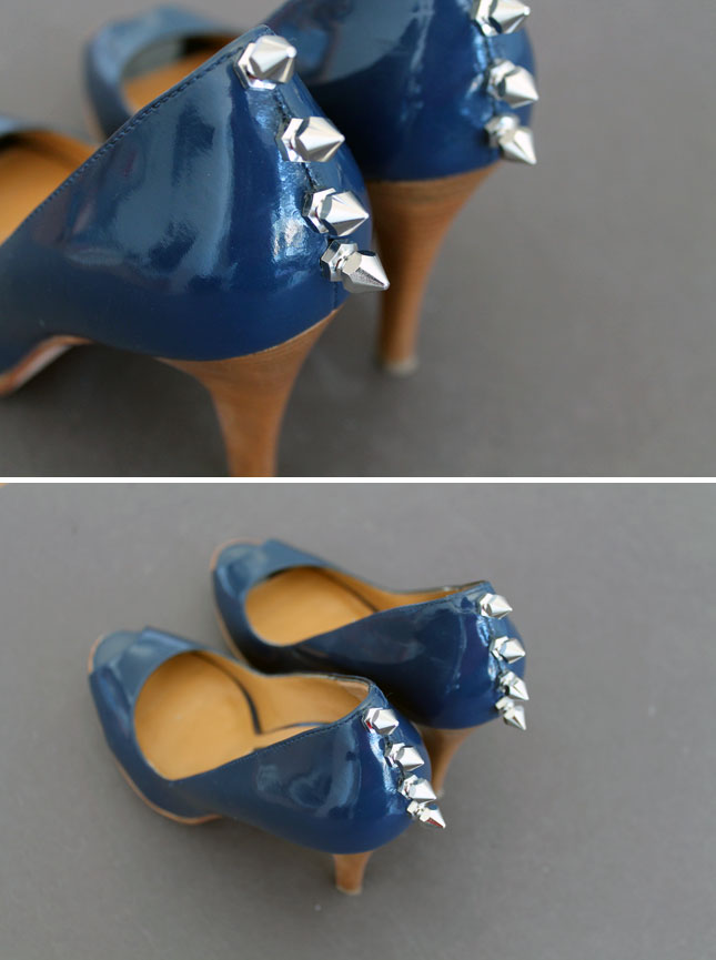 Spiked heels diy