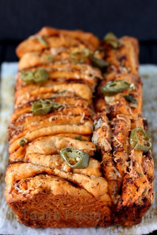 Ancho chile pullapart bread recipe