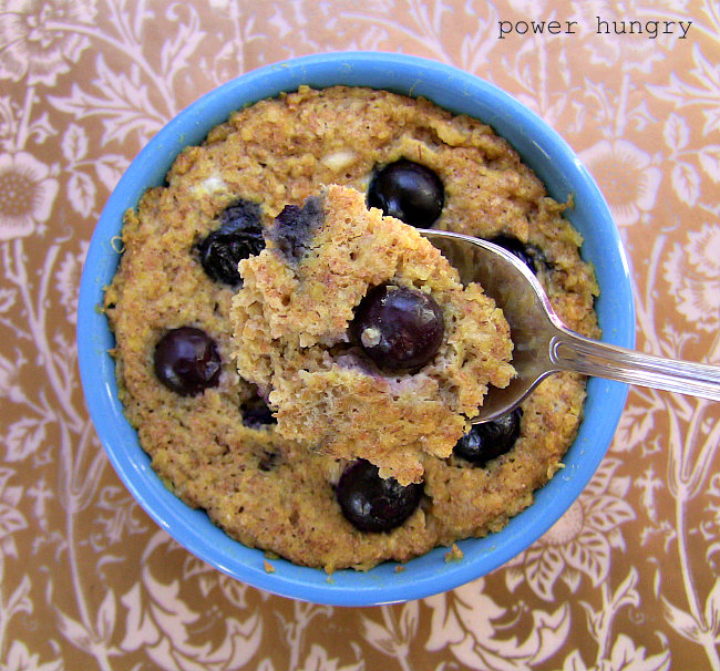 Banana blueberry muffin mug recipe