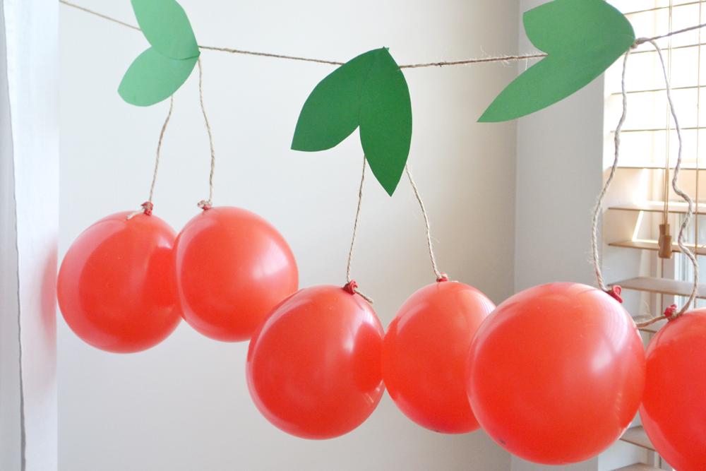 Cherry garland 6