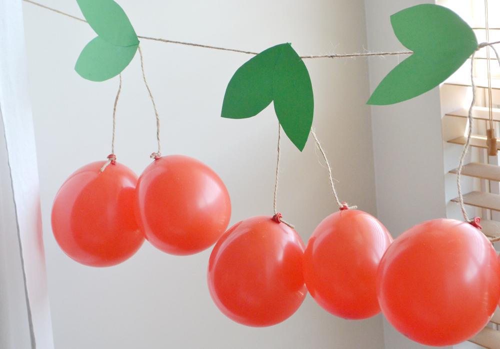 Cherry garland 7