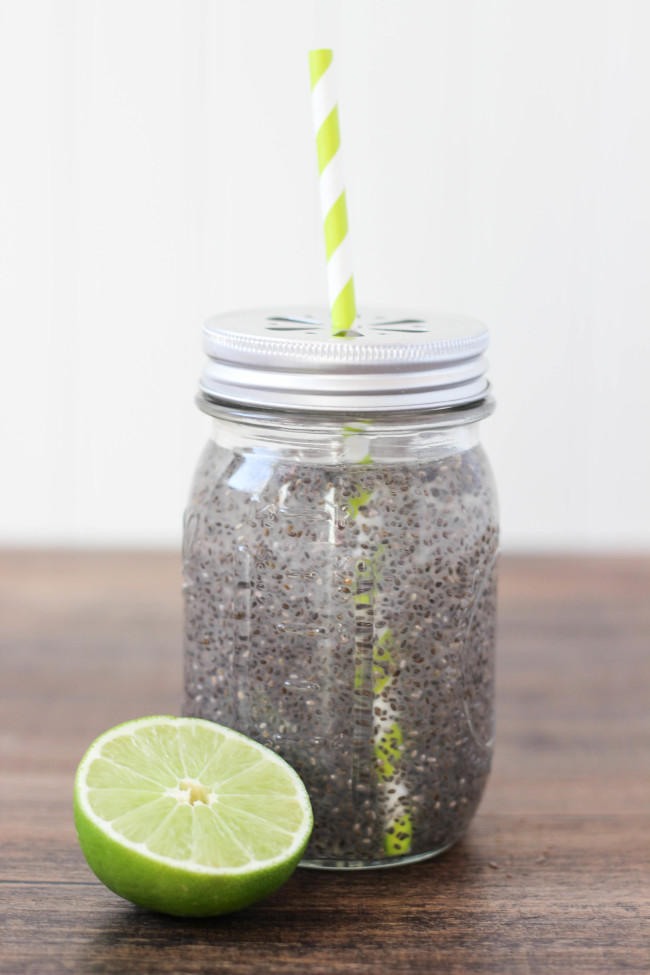 Chia water recipe