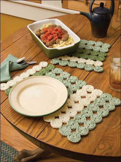 Clover patch place mat