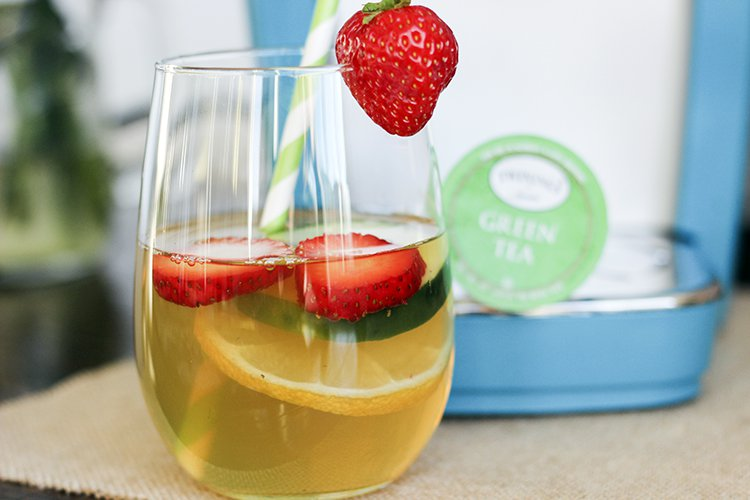 Detox green tea recipe