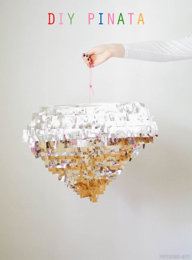 Diamond pinata diy