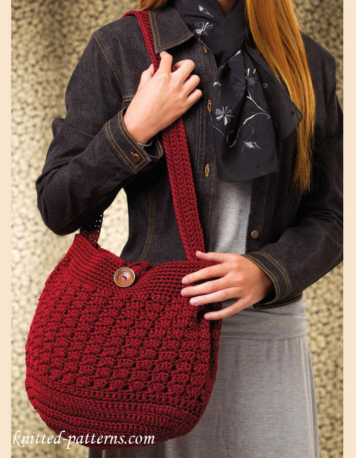 Fall sweater tote