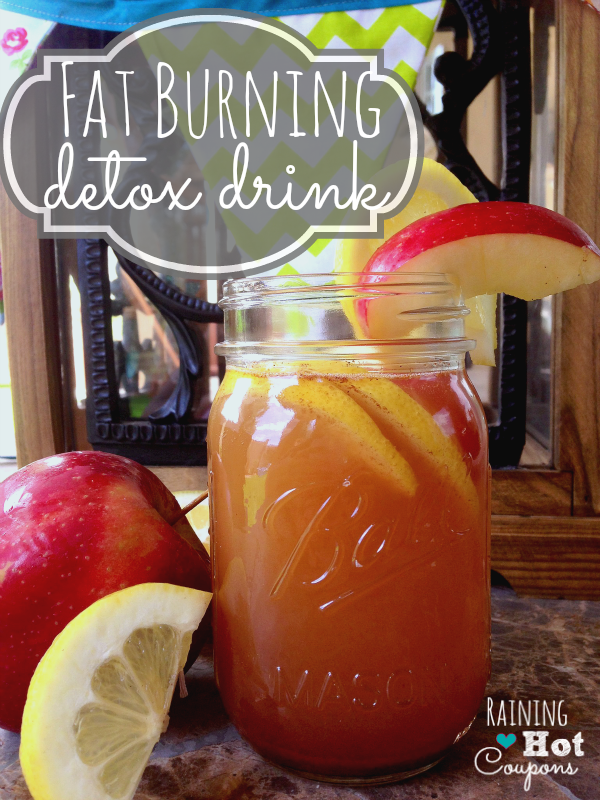 Fat burning detox drink