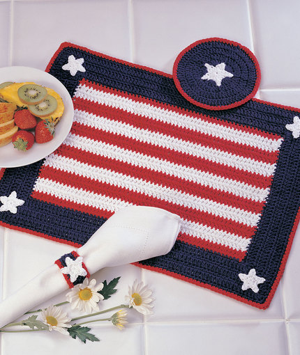 Dress Up Your Table With These Stylish Crochet Placemats