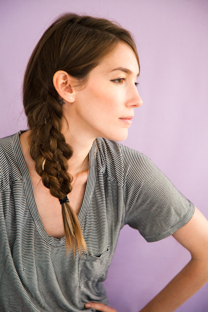 Hair tutorial mermaid braid caroline prince ventura