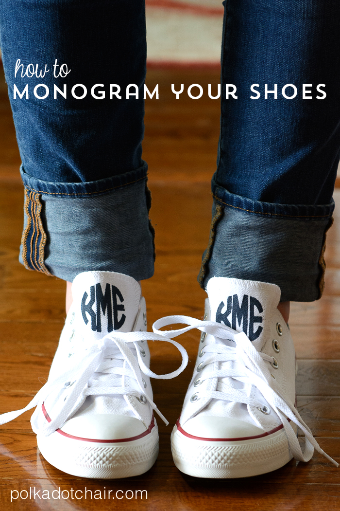 How to monogram your converse