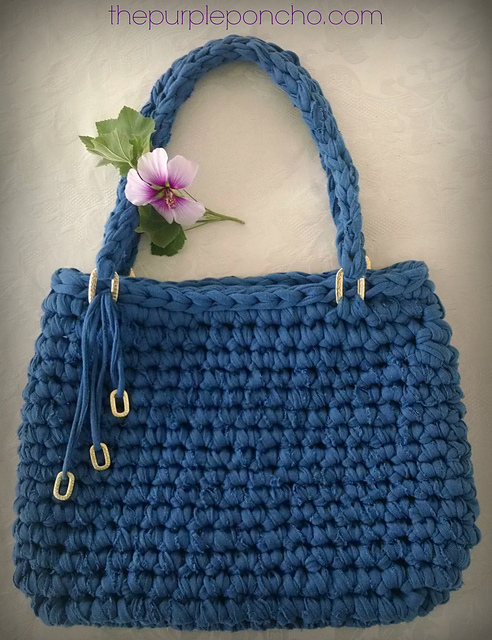 Island breeze crochet tote