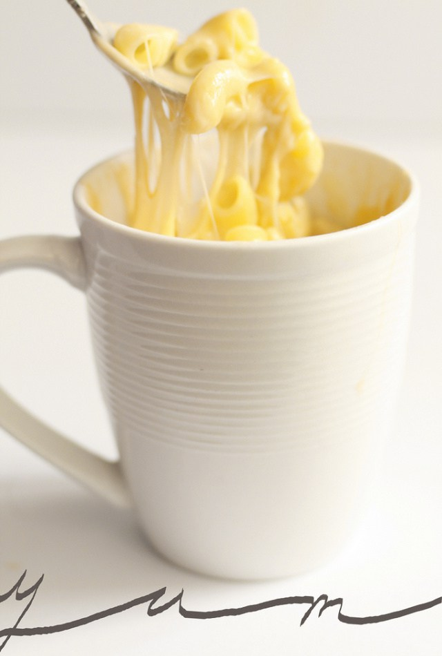 Mac and cheese mug recipe