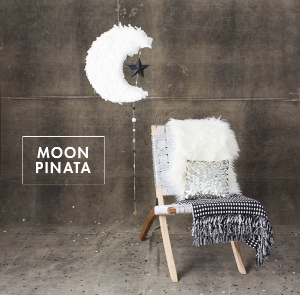 Moon pinata diy