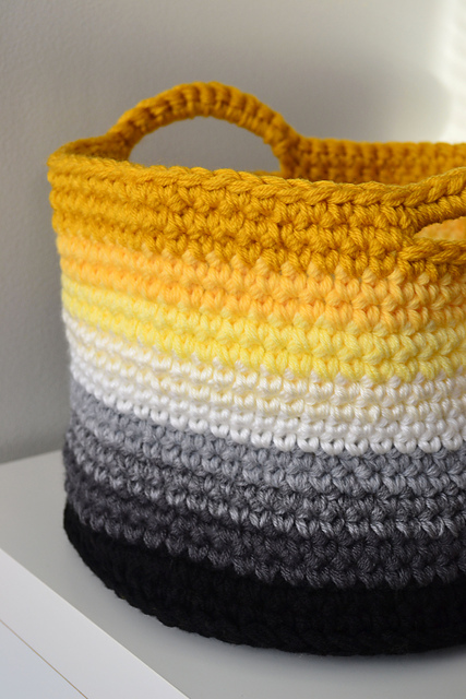 Ombre basket