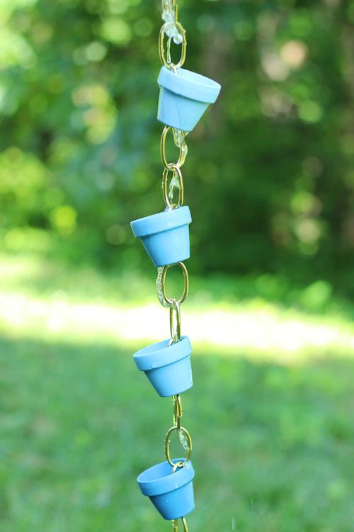 Ombre rain chain