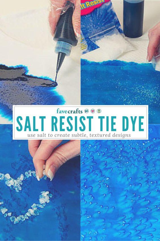 Salt resist