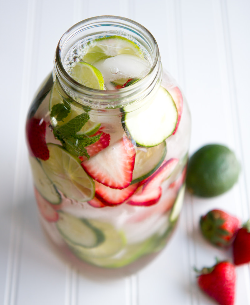 Strawberry lime and mint recipe