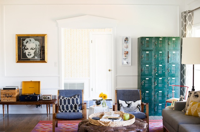 16 bohemian style living room lockers