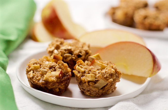 17 apple cinnamon quinoa bites