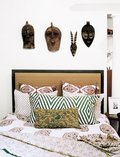 19 bohemian bed styling