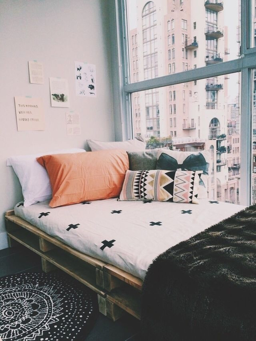 24 black white graphic dorm boho