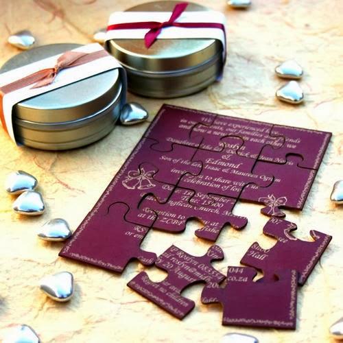 27 puzzle invitation