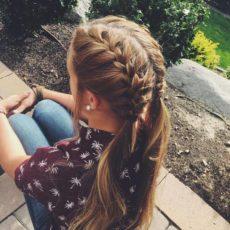 pigtails ponytails