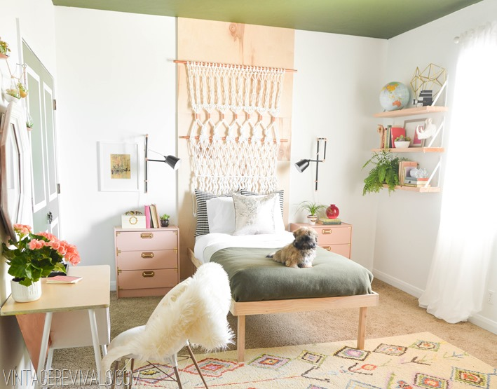 4 Retro Bohemian Bedroom