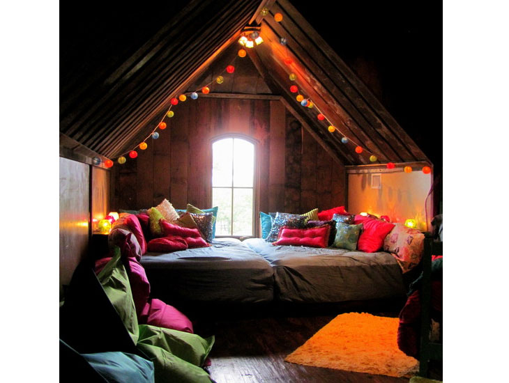 "Attic ""treehouse"""