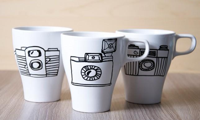 Camera cups