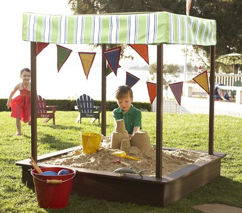 Building a canopy above the sandbox gives your kids some shade while they play. This will help protect them from heat stroke and sun burns ... : sandbox canopy - memphite.com