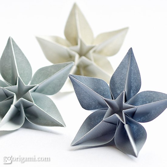 Decorate your home with these beautiful origami flowers carambola flowers mightylinksfo Choice Image