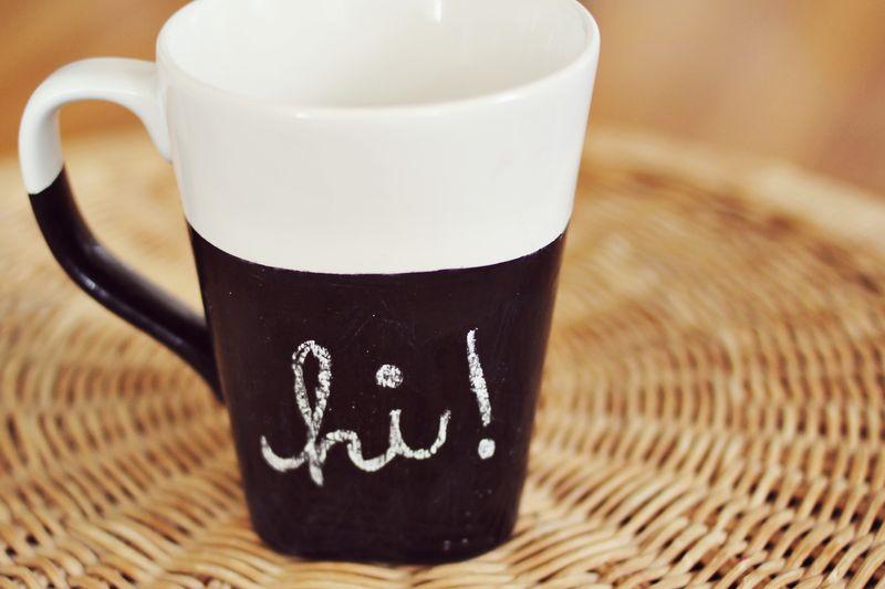Chalkbord mug