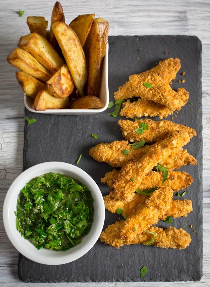 Chicken tenders crispy recipe