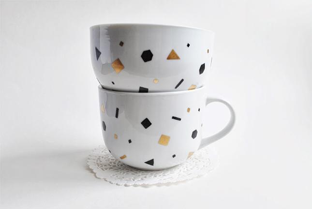 Confetti mugs