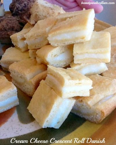 Cream cheese danish rolls