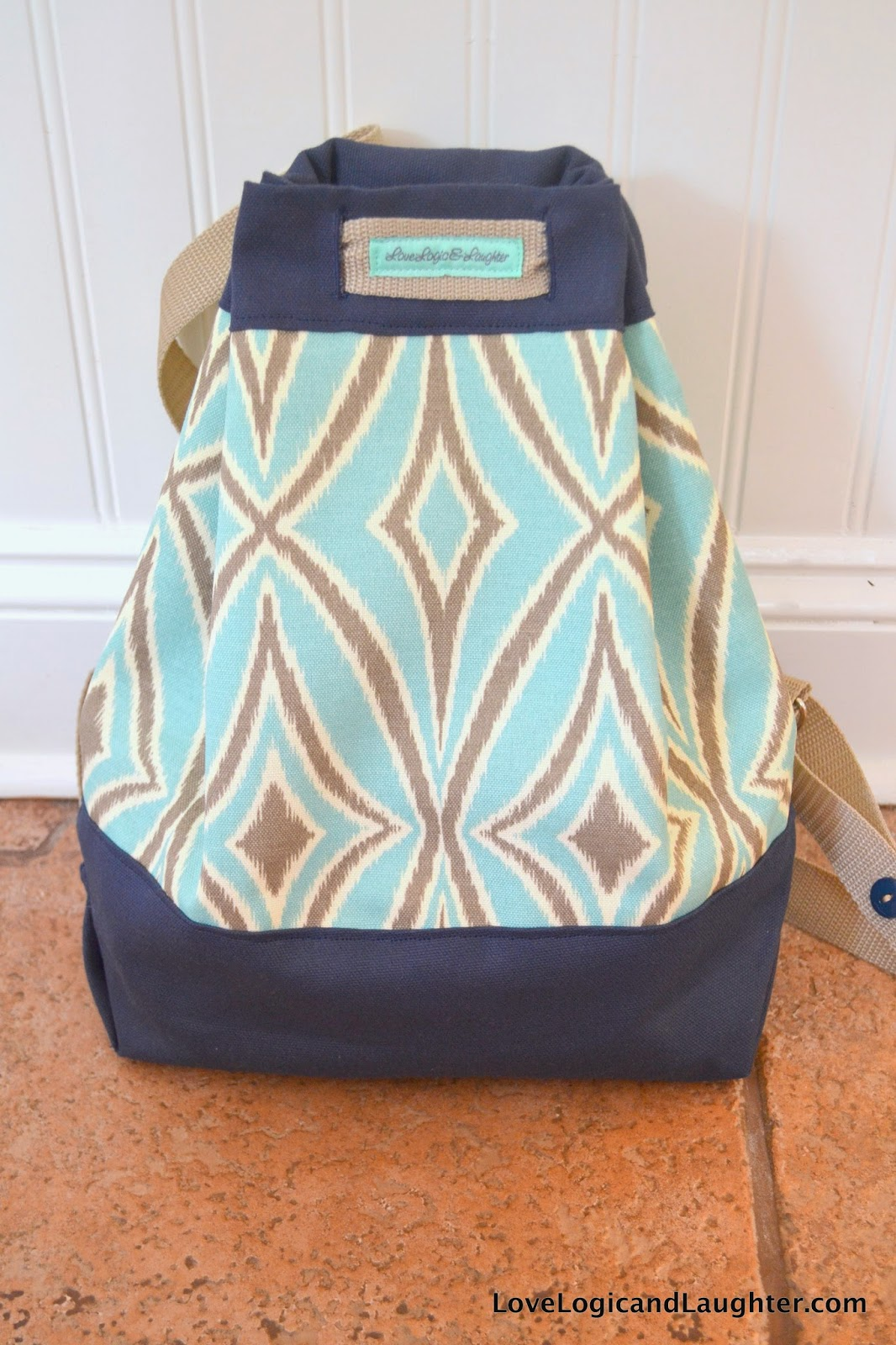 Diy backpack diaper bag