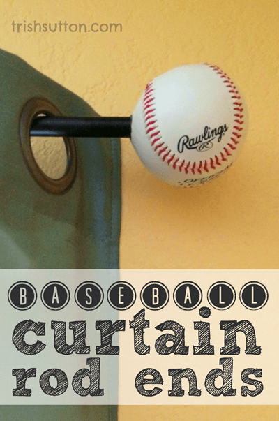 Diy baseball curtain rod ends thumb