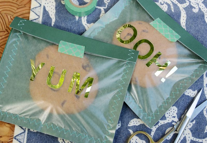 Diy cookie wrappers perfect gift