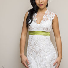 Diy crochet wedding dress