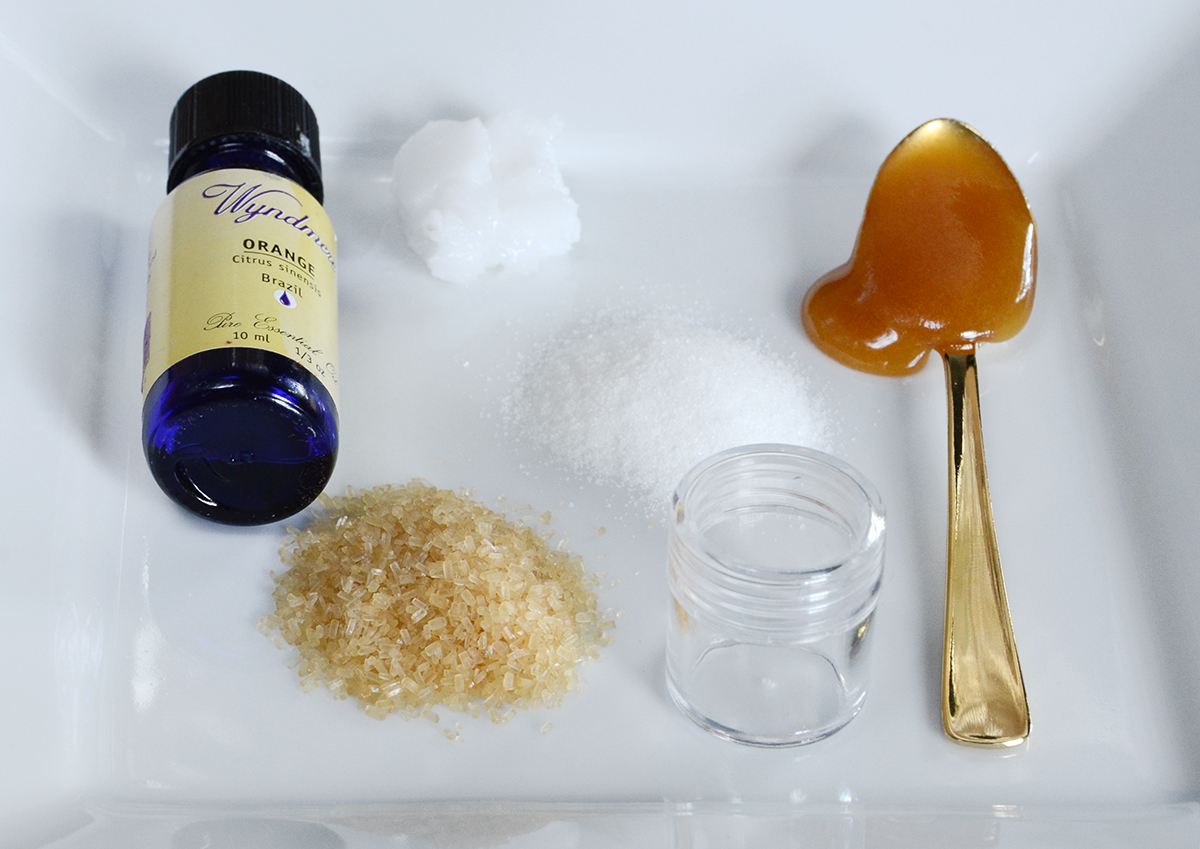 Diy lip scrub 1